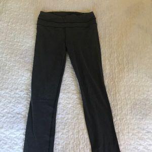 Lululemon grey athletic leggings